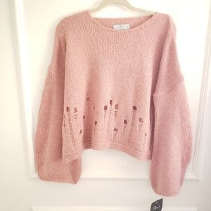 Caerus and muse knit sweater